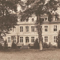 Ansicht Schloss Grube aus den 20er Jahren