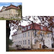 Schloss Grube vorher/nachher