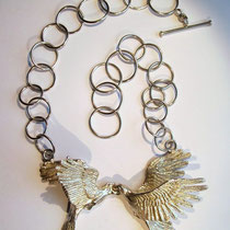 Papageien Collier