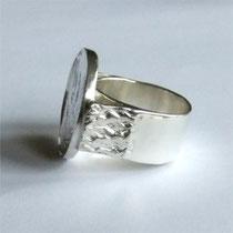 Silber Ring Phoenix