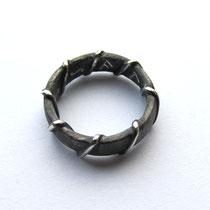 Silberring Runen