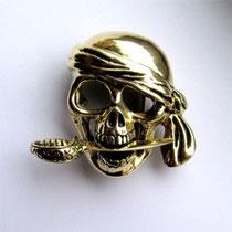 Gürtelschnalle Pirat