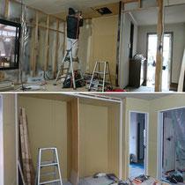 タクミ建設|1F店舗兼事務所へリノベーション|住宅ストック支援事業|無垢板栗フローリング|