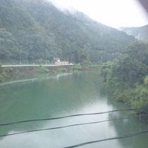 福知山途中にて
