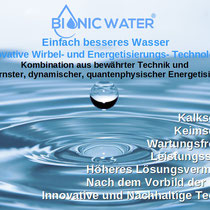 BIONICWATER Wirbel und Energetisierungs Technik