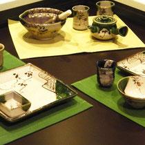 【モノ】  瀬戸焼ギャラリー展示 地域ブランド窯元陶磁器展示紹介