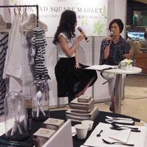 【コト】 イベント ミッドランドスクエア(名古屋) 「ライフスタイルのセンスアップにつながる雑貨との出会い」 トークショーに出演