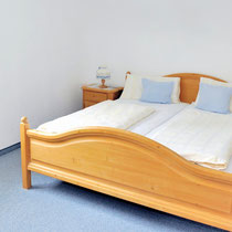 Wohnung 8 - Schlafzimmer Nord (Bett 180 x 200 cm)