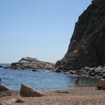 crique de Tossa de mar ...