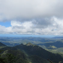 Die Sicht vom Mount Warning.