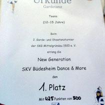 1. Platz!!! :-)