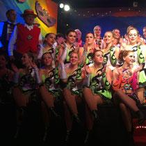 Und zum Schluß noch einmal alle gemeinsam auf der Bühne...
