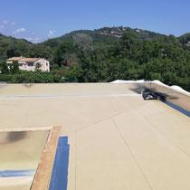 carros construction - toit terrasse- ecole auribeau sur siagne