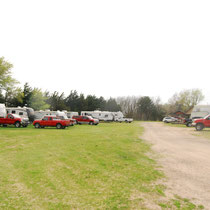 Lot's of space for your RV and your passenger vehicles