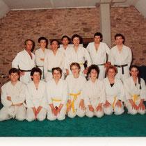 De gauche à droite 2ème rang:C.GILMEAU, R. FREIN, Y. PELE, P. JOURSAND, MEZIERE , G. CIPIERRE, P.GRAINDORGE 1er rang: J. FREMOND, J.CIPIERRE,C.JOURSAND,M. RONDEAU, D.BEDOUET,M.Cl MEZIERE, M.Fr. BERTHE.