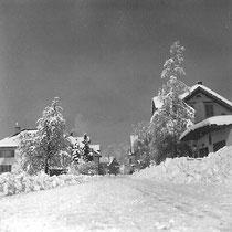 Dorf Wangen Winter 1952