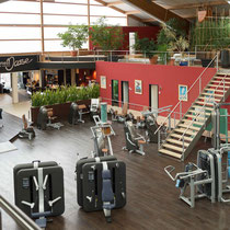 Fitness-Oase: Trainingsbereich