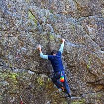 Klettern am Habichtstein