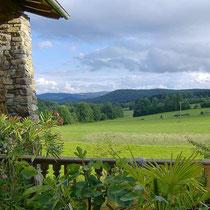 Landhaus Wildfeuer: Aussicht