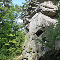 Klettern am Eidenberger Lusen