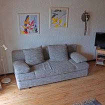 """gemütliches Sofa in der Ferienwohnung """"Lusen"""""""