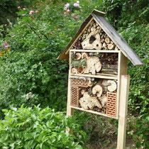 Unser Insektenhotel
