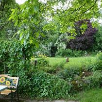 Landhaus Wildfeuer: Lauschige Plätze im Garten