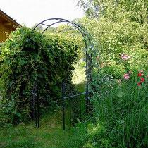 Landhaus Wildfeuer: Tor zum Garten