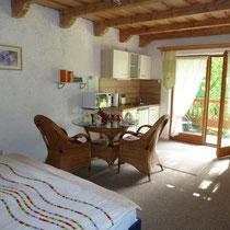 Ein-Zimmer-Appartement mit Terrasse