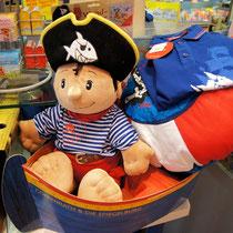 Und für unsere kleinen Piraten, eine große Auswahl an Captain Sharky Artikeln