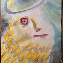 2013  size? Water Color Angel