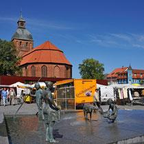 Ribnitz Bernsteinbrunnen