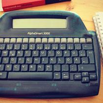 Alphasmart Schreibcomputer