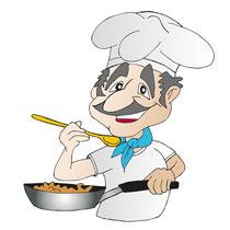 griechischer Koch
