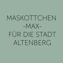 Maskottchen Max für Altenberg