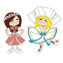 Daphne & Doris in der Lausitz