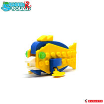 Blocks World Seabed Squad (Blue Tang/トロピカルフィッシュ)K38A-8