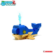 Blocks World Seabed Squad (Whale/クジラ)  K38A-1