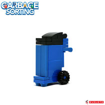 Blocks World Garbage Sorting (Blue) K40A-3