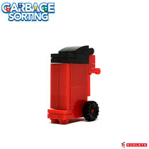 Blocks World Garbage Sorting (Red) K40A-1