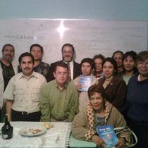 Grupo de cabalistas Jorge, Mario, Agustin Francisco, El Jajám, Mary Nohemi, Vero,Normita, Vero y Luz