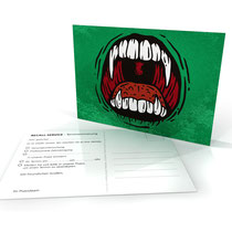 Recallkarte Zahnarztpraxis Postkarte