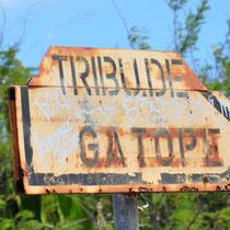 La direction (Gatope est en bord de mer)