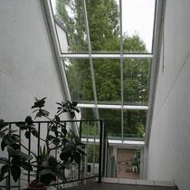 Hügel 2 Treppenhaus