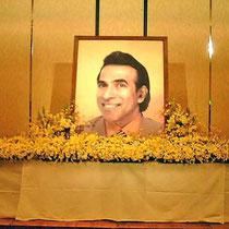 ¥50000(祭壇別)  360×72x65 葬儀会場祭壇花