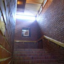 議場への階段