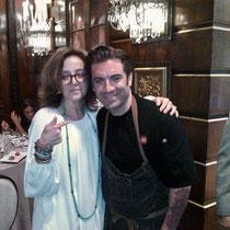 Karen Schloss with Chef Ryan Depersio, Fascino, Battello, Kitchen Step