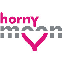 """Horny moon airways"" logo"