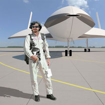 Maxime Vaeli for test flight