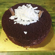 Chocolate Whip Cream Cake